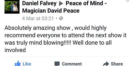 Reserve tickets for April 27ths Peace of Mind show!