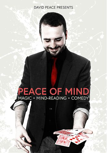 Peace Of Mind June 30 - Magic Mind-reading and Comedy Cork